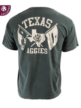 Texas A&M Texas Aggies AMC Double Flag T-Shirt
