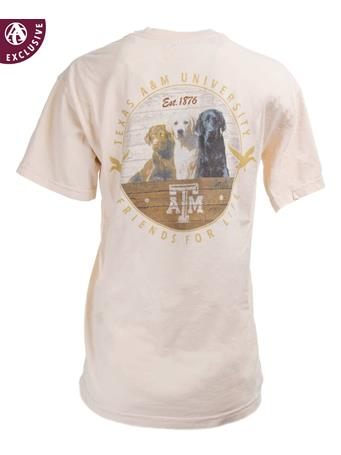 Texas A&M Aggies Friends For Life T-Shirt