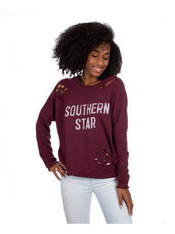 Maroon Southern Star Sweatshirt