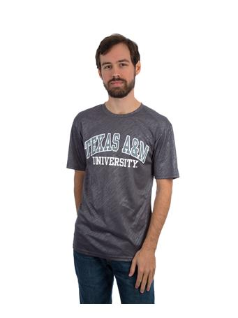 Badger Texas A&M Line Embossed Basic Tee