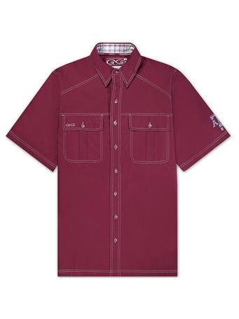 Texas A&M GameGuard Maroon Cotton Shirt