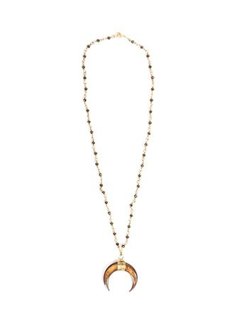 Noah and Faye Crescent Necklace
