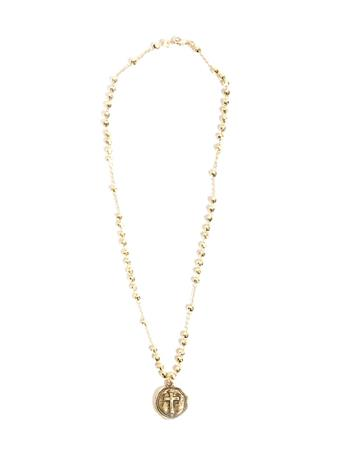 Noah and Faye Gold Cross Necklace