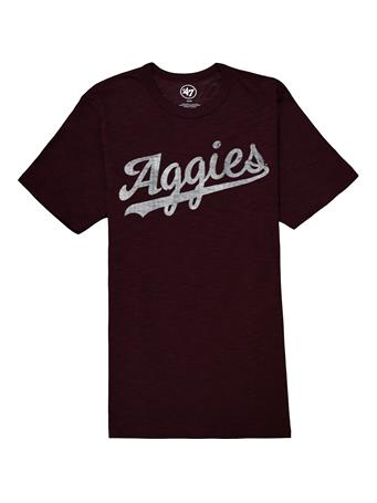 Texas A&M Aggies '47 Brand Men's Grit Wordmark T-Shirt