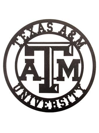 Texas A&M Collegiate Metal Sign