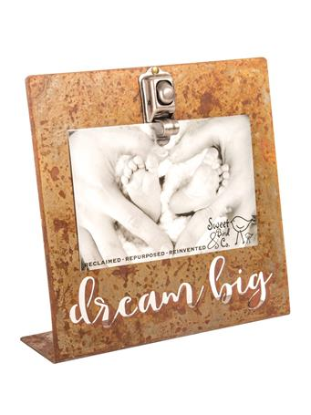 Dream Big Bent Metal Frame