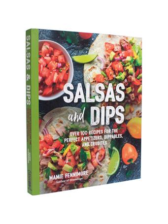 Salsas And Dips Recipe Book