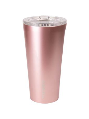 Corkcicle 16oz Rose Gold Tumbler