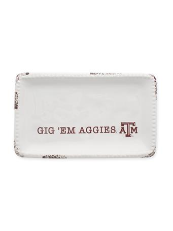 Texas A&M Logo Trinket Tray