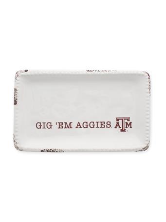 Texas A&M Logo Trinket Tray