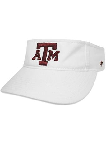 Texas A&M '47 Brand Block Clean Up Visor