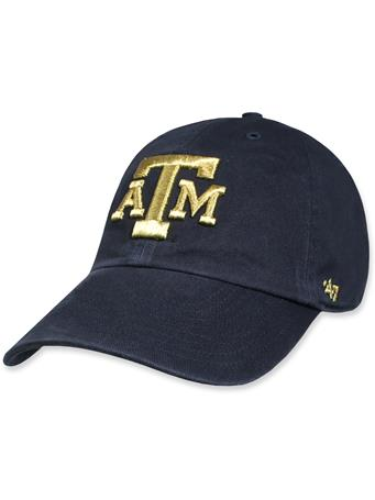 Texas A&M '47 Brand Metallic Clean Up Cap