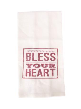 Jazzy Artz Bless Your Heart Tea Towel
