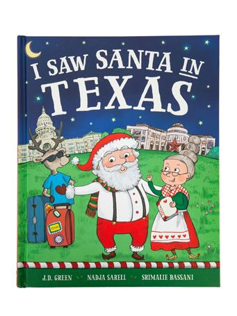 I Saw Santa in Texas Book
