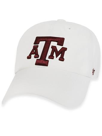 Texas A&M '47 Brand Block Clean Up Cap