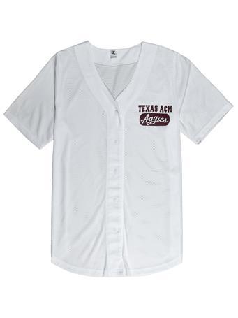 Texas A&M Aggies Women's Home Baseball Tee