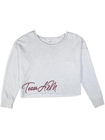 Texas A&M Victory Crop Sweatshirt