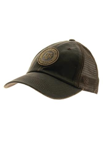 Texas A&M Walnut Adjustable Velcro Cap