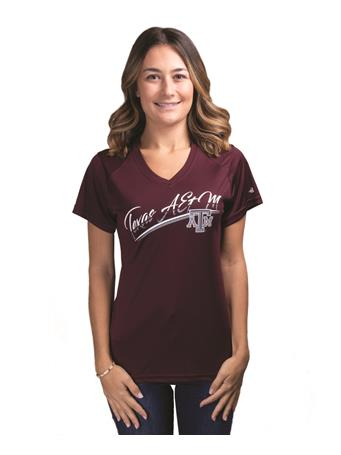 Texas A&M Women's Badger Basic Ultimate Tee