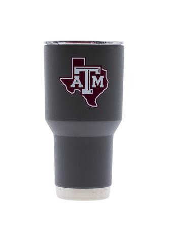 Texas A&M Lone Star Grey Tumbler