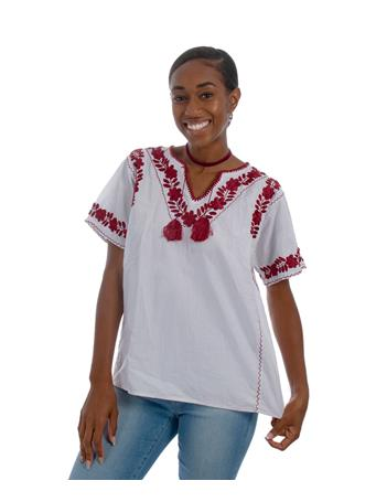 Nativa Estrellita Embroidered Blouse