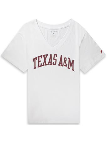 Texas A&M League Women's Intramural V-Neck Tee