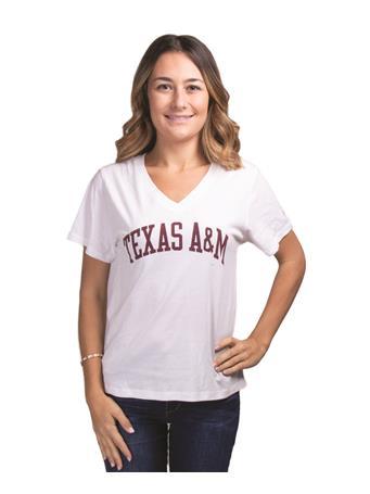Texas A&M Women's Intramural V-Neck Tee