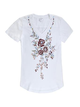 Karli Floral Embroidery Top