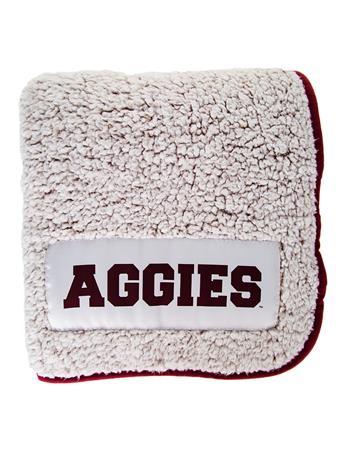 Texas A&M  Frosty Fleece Blanket