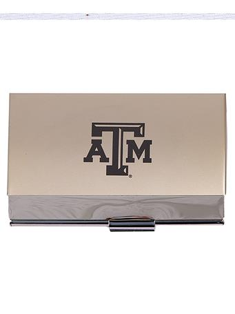Texas A&M Two-Tone Business Card Holder