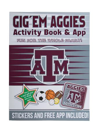 Texas A&M Gig 'Em Aggies Activity Book