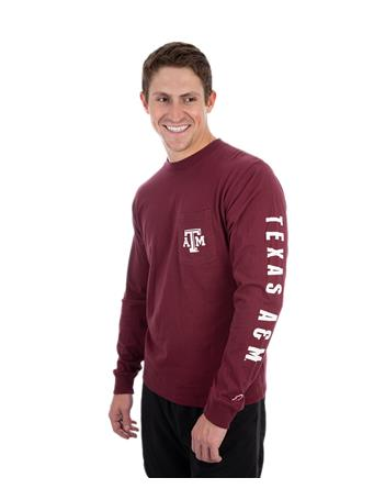 Texas A&M League Vintage Wash Long Sleeve