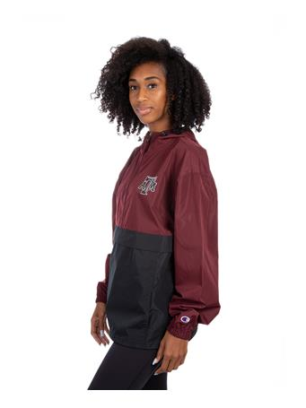 Texas A&M Champion Color Block Packable Jacket