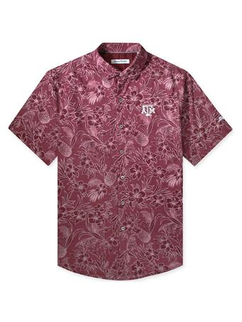 Texas A&M Tommy Bahama Sport Tiki Luau Button Down