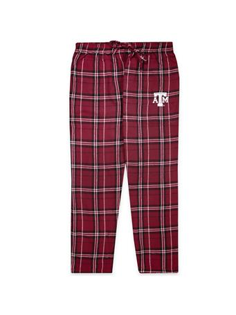 Texas A&M Plaid Pajama Pant