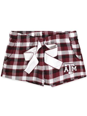 Texas A&M Piedmont Ladies Pajama Shorts