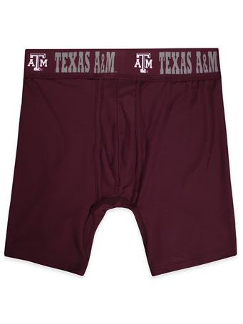 Texas A&M Men's Fairway Boxer Briefs