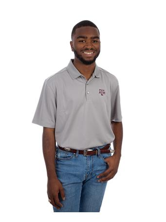 Texas A&M Cutter & Buck Men's DryTec Polo