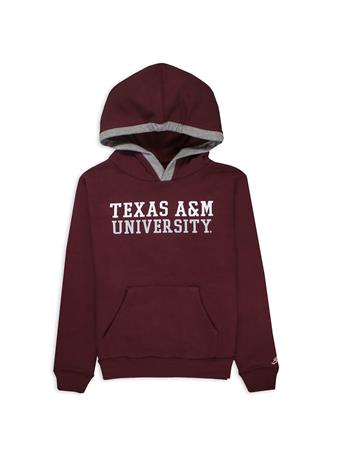 Texas A&M League Youth Fleece-Lined Hoodie