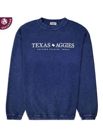 Simple Texas Aggies Corduroy Pullover