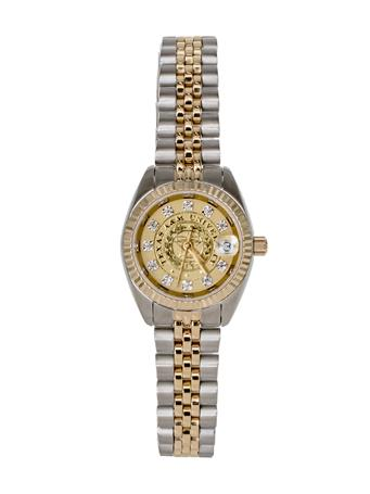 Belair Texas A&M Ladies Two Tone Diamond Watch