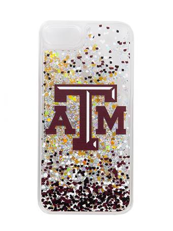 Texas A&M Confetti Glitter iPhone 7/8 Case
