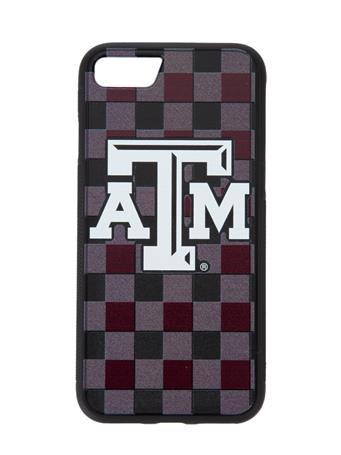 Texas A&M Plaid iPhone 7/8 Bump Case