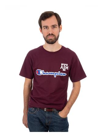 Texas A&M Champion Ring Spun Tee