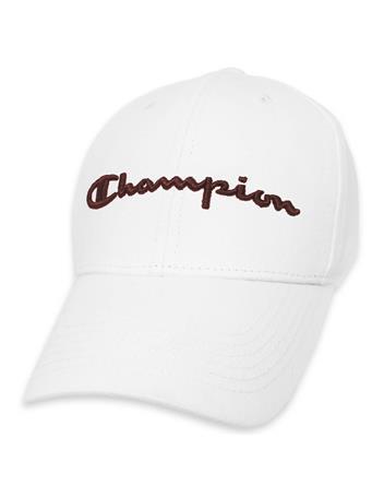 White Champion Cap