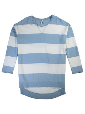 Rugby Stripe Weekender Long Sleeve