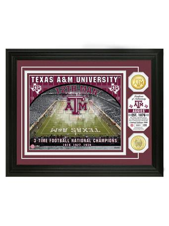 Texas A&M 12th Man Kyle Field Limited Edition Frame