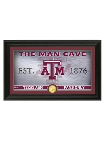Texas A&M Fans Only Man Cave Frame