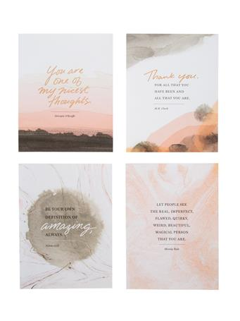 Words To Inspire Notecards