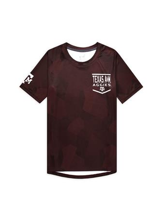 Texas A&M Aggies Youth Sublimated Dri-Tek Tee